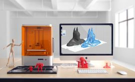 MAKEX m-one 光固化3D打印機 DLP 工業級桌面機 高精度珠寶手辦