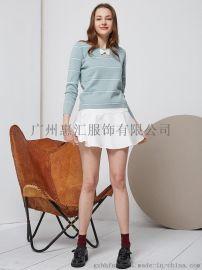 杭州休闲淑女装品牌紫淑2018夏装 广州惠汇折扣