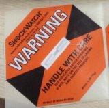 国内包邮75G橙色防震动标签SHOCKWATCH