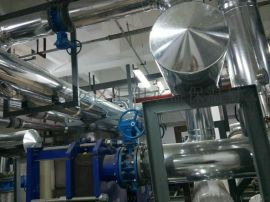 鐵皮管道保溫工程  (管道  水箱)