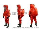 霍尼韋爾(巴固)內置式重型防化服1400021防酸鹼防化服