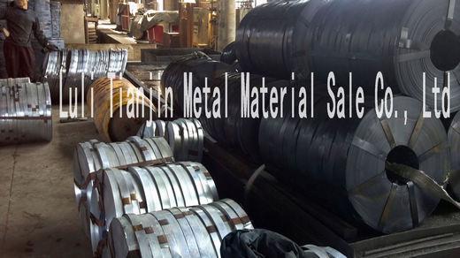 现货供应热镀锌带钢,高速公路桥梁波纹管带钢、波纹管钢带