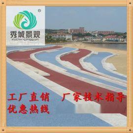富阳技术规程透水混凝土施工及胶结料质量把控/彩色透水地坪厂家专业企业标准用量配比规模
