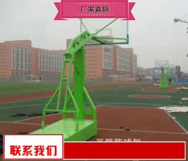 升降篮球架规格型号 学校操场篮球架工厂价直销