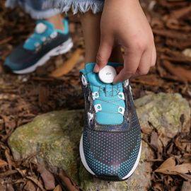 FITGO系带系统登山徒步鞋懒人旋转鞋带松紧调节