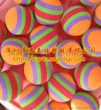 阿浸胶海绵球 海绵浮漂玩具球