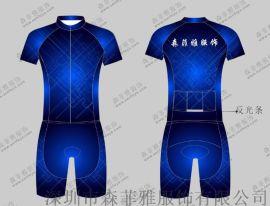 加工定制铁三连体服防紫外线速干透气铁人三项服