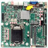 工控主板ITXH110LGA1151针 2个千兆网口6个串口支持i3/i5/i7处理器