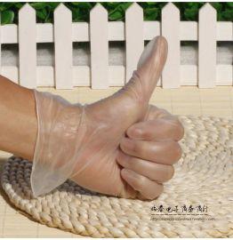 松晖均码 PVC手套一次性手套批发 白色无粉橡胶乳胶医用牙科检查实验水产电子厂手套