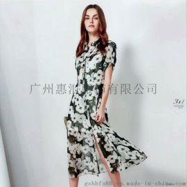 广州惠汇服饰供应婉枫18夏装专柜正品惠汇服饰走份