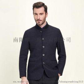 秋季男士修身商务休闲西服单西外套4732 羊毛混纺 商务休闲 优雅素色