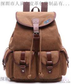enkoo+CRA812+双肩帆布背包