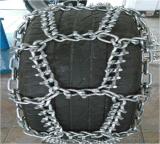 厂家供应林业伐木机集材机30.5L-32轮胎防滑链 热处理硼钢防滑链