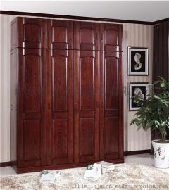 環保木材實木衣櫥木言木語整體框架純實木家具