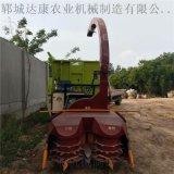 牧草青贮收获机 旋转料口饲料回收青储机