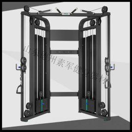 德州健身器材厂家 商用力量器械 小飞鸟训练器龙门架