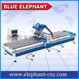 济南蓝象 新款1325双工位四工序开料机 数控雕刻机生产厂家