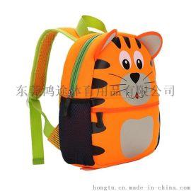 定制环保3D卡通儿童书包走失包 猫咪款