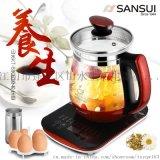 sansui/山水 KT-880養生壺 玻璃電熱水壺 煮茶煎藥壺
