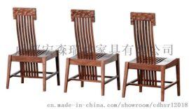 重庆宏森古典新中式家具定制定做