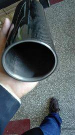 大口徑音響套管,3K碳纖維管,平紋斜紋亮光