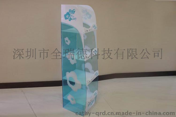 深圳厂家定制 有机玻璃陈列展示架 亚克力书架 亚加力资料展示架文件架