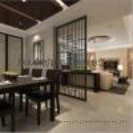 客厅酒店中式镂空屏风隔断,不锈钢激光加工屏风