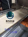 全自动成型裹涂汉堡肉饼生产线 品质保障肉饼成型机