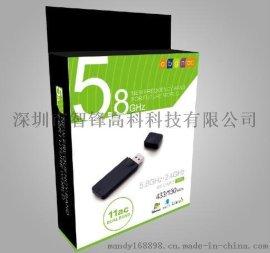 11AC+802.11b/g/n/雙頻/5.8G/USB無線網卡/MT7610