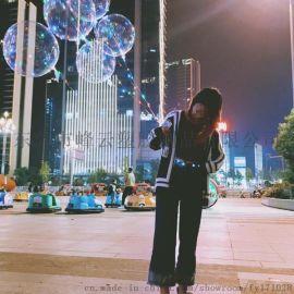 东莞峰云塑胶制品厂家直销2017爆款透明无皱波波球TPU悠悠发光球