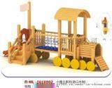 进口木制滑梯/儿童木制滑梯/大型木制滑梯