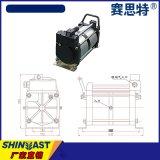 压缩空气加压泵 增压泵 GPV02-05空气稳压泵