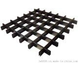 广州网状铝格栅吊顶厂家,木纹铝格栅天花,出厂的售价