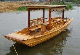 哪有木船制造厂江苏楚风木船定制景区观光游船餐饮客船