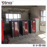 新疆呼图壁红酒庄用三台72kw电热水锅炉采暖系统取暖用