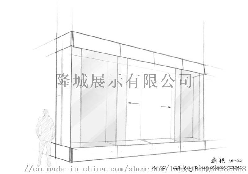 深圳展柜厂家创新设计制作博物馆展柜图片