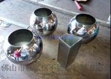 不锈钢花盆制做 花纹 表面局部喷砂 不锈钢花盆装饰