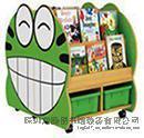 圖書館家具兒童 辦公家具 兒童雙面書架書櫃
