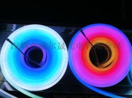 12V-幻彩硅胶柔性霓虹灯带可任意裁剪弯曲