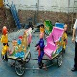 猴子拉车新款户外广场儿童游乐设备大型游乐场厂家直销