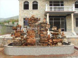 兴安斧劈石假山厂家,千层石假山制作,塑石假山设计,水泥假山价格,假山制作