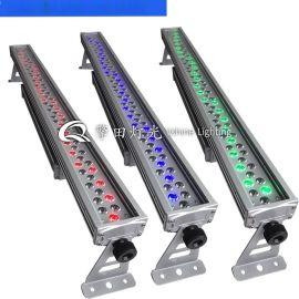 72顆1wRGB三合一防水洗牆燈 LED戶外酒店酒吧舞臺洗牆燈