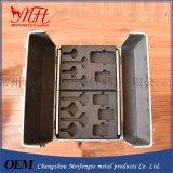 厂家供应铝合金器材箱、EVA内衬模型、多规格铝箱工具箱