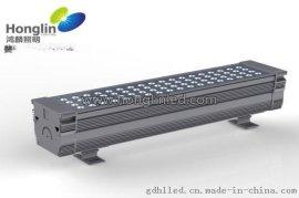 方形72W结构防水LED投光灯