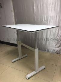高奕KY-OA-H2雙柱氣棒升降辦公桌