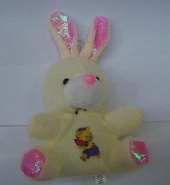 毛绒玩具兔挂件 厂家直供