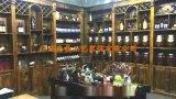 家用酒櫃紅酒酒櫃葡萄酒客廳酒櫃定制歐式隔斷酒櫃防腐木炭化木酒櫃地窖酒莊連鎖酒櫃實木隔斷酒櫃 防腐木 江西涼亭廠家直銷