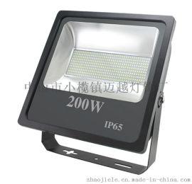 足瓦高亮广告灯200W户外泛光灯|IP65一体款投光灯