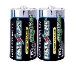 POWER FLASH LR20碱性干电池(环保型0.00%汞,镉,铅)