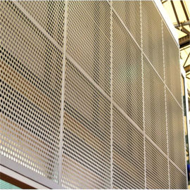用作幕墙装饰和天花装饰的冲孔装饰网产地货源值得信赖